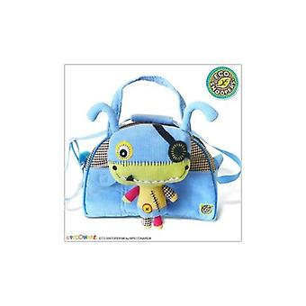 Duffle Bag - Pecoware - Monster Soft Plush Doll Hand Purse New B025MR