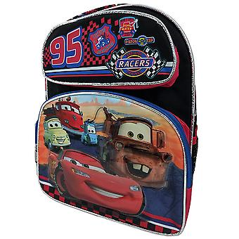 Small Backpack - Cars - 95 Cars Racers Black 12