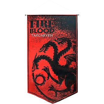 Game of Thrones Targaryan Satin Bannière