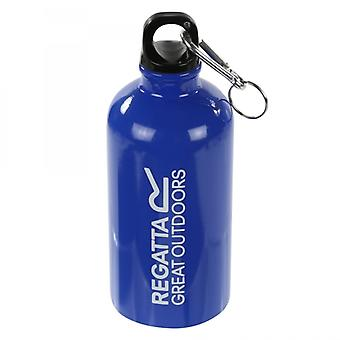 Regatta 0.5L Steel Bottle With Karabiner Lid Oxford Blue