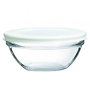 Luminarc 23 Cm Stackable salad bowl with lid