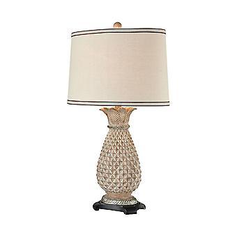 Parisian stone buxton table lamp in parisian stone stein world