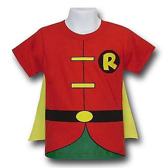 Robin Kids Traje Caped Camiseta