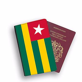 TOGO Flag Passport Holder Style Case Cover Protective Wallet Flags design
