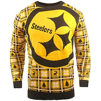 NFL Ugly Sweater XMAS Knit Sweater - Pittsburgh Steelers