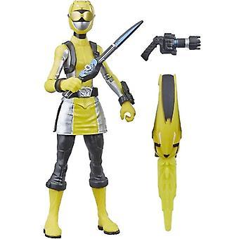 Power Rangers, Beast Morphers-Yellow Ranger 15 cm