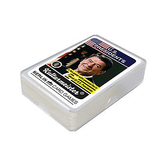 US Präsidenten Quartett english Präsidentenquartett zum Selbermachen Kartenspiel 32 Karten