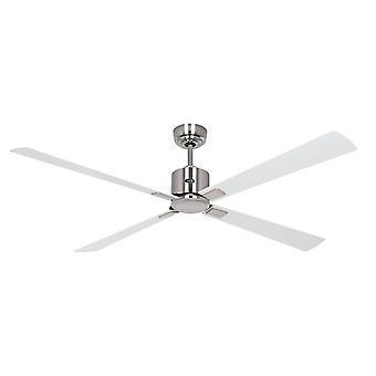 Ventilador de techo ECO NEO III 152 CH Blanco / Gris claro