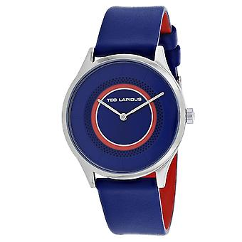 Ted Lapidus Women's Classic Blue Dial Watch - A0715IDIB
