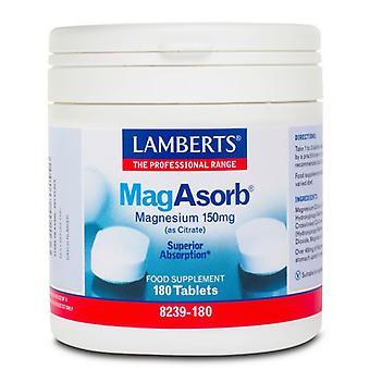 Lamberts MagAsorb 150mg Comprimidos 180 (8239-180)