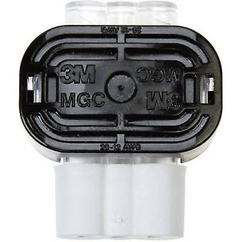 3M 80611434152 Low virtaliitin joustava: 0.79-3.14 mm² jäykkä: 0.79-3.14 mm² nastojen määrä: 2 1 PCs() harmaa
