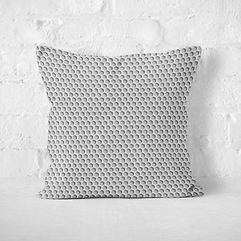 Meesoz Cushion Cover - Silver Holes II