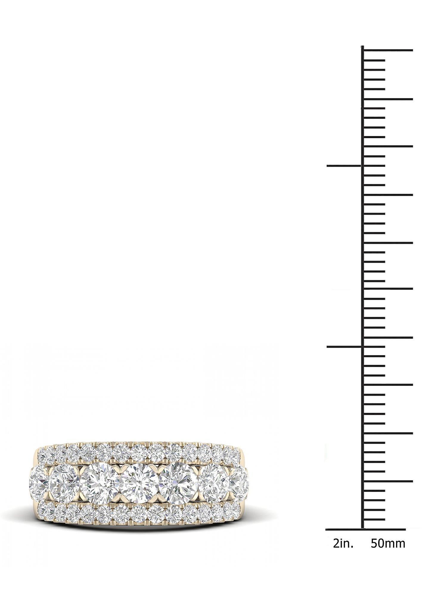Neuer Modestil von Fantastisk pris Igi zertifiziert decouer 2ct tdw Diamant 14k Gelbgold Ehering (h-i, i2)  rqAtq