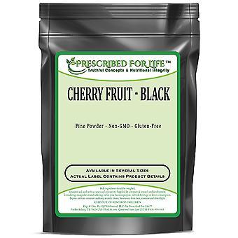 Cherry-zwart fruit poeder