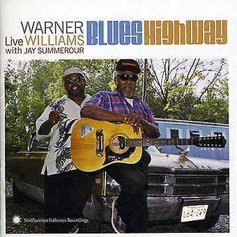 Warner Williams - Live met Jay Summerour [CD] USA import