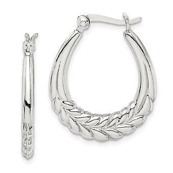 925 Sterling Silver Hoop Earrings Jewelry Gifts for Women - 3.6 Grams