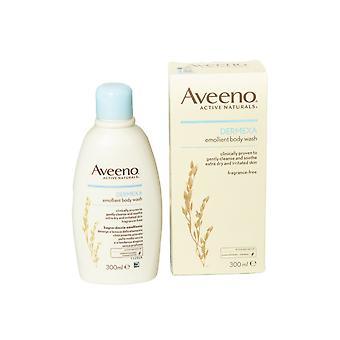 Johnson and Johnson Aveeno Dermexa Emollient Body Wash Gentle 300ml Fragrance Free Clinically Proven