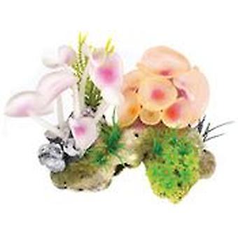 Klassiker för husdjur korall sten/Anemone 2st (fisk, dekoration, prydnadsföremål)