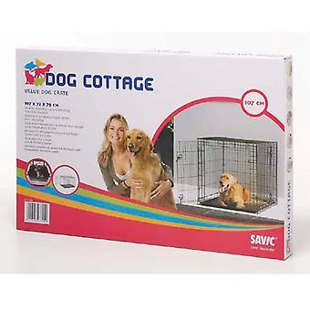 Chadog 折りたたみ犬ケージ コテージ重量 12.8 Kg (犬、交通・旅行・ ケージ)