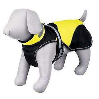 トリクシー フラッシュ セキュリティ層の黒/黄色の (犬、犬の服、ライフ ジャケット)