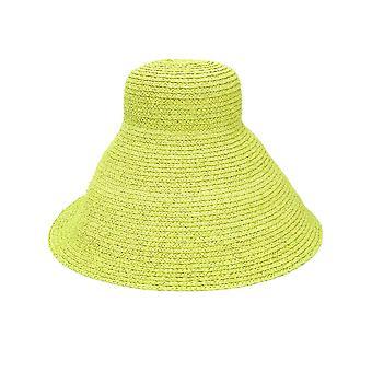 Jacquemus 201ac0420172500 Women's Green Canvas Hat