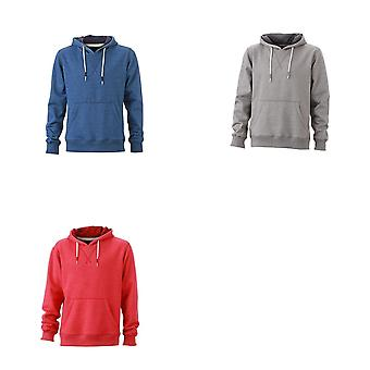 James and Nicholson Mens Hoodie