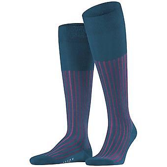 Falke Shadow Knie-hohe Socken - Frost blau