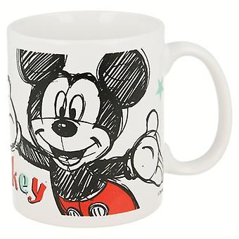 Ceramic mug Mickey Drawing