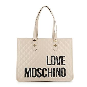 Love Moschino Original Women Fall/Winter Shopping Bag - White Color 37949