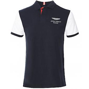 Hackett Slim Fit Contrast Sleeve Polo Shirt