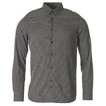 J.lindeberg Dani Cl Black Print Patterned Shirt
