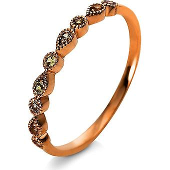 Anello di pietra - 18K 750/- 0.18 ct. - 1R160R853 - Larghezza anello: 53