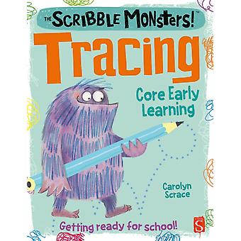 Scribble Monsters Tracing by Carolyn Scrace