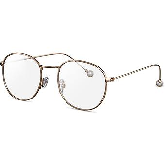 CWI brille Whether for shopping or in a restaurant, these fashionable glasses are ideal for any occasion! With its warm tinted metal and soft silhouette, these glasses are perfect for the whole year.  <br><br><strong> Specifications</st