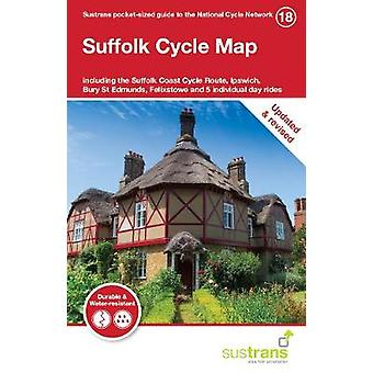 Suffolk Cycle Map - Including the Suffolk Coast Cycle Route - Ipswich