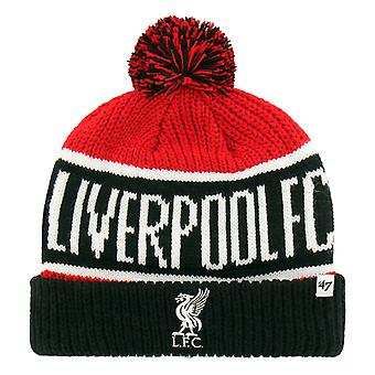 47 Brand Knit Beanie Winter Hat - Calgary FC Liverpool Red
