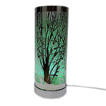الرغبة في تغيير اللون الشمع الموقد - شجرة الفضة