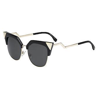 Fendi Iridia FF0149/S REW/P9 Black Gold/Grey Sunglasses