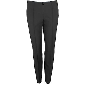 Steilmann Black Slim Fit Trousers