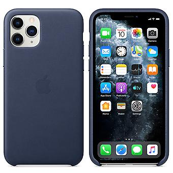 Apple Leather Case for iPhone 11 Pro Midnight Blue Blue Case Protective Phone Case Case