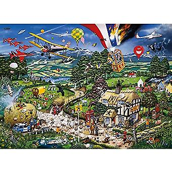 Gibsons Jigsaw Puzzle - I Love The Country by Mike Jupp, 1000 Piece