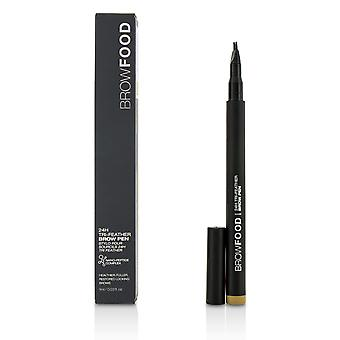Brow Food 24 H Tri Feather Brow Pen   Dark Blonde 1ml/0.03oz