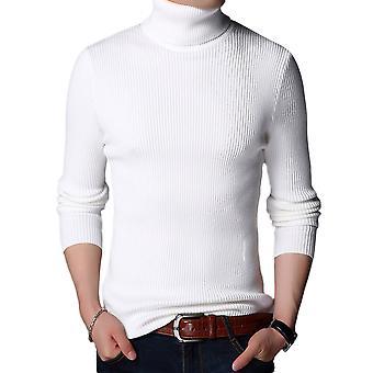 Allthemen muži ' s Kórejskou vesion jednofarebné vlnené hustý vysoký golier sveter sveter zimné