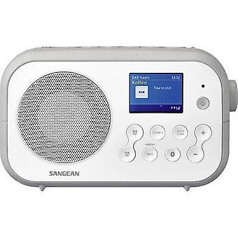 Sangean Traveller-420 (DPR-42 W/G) Portable radio DAB+, FM Bluetooth White, Grey
