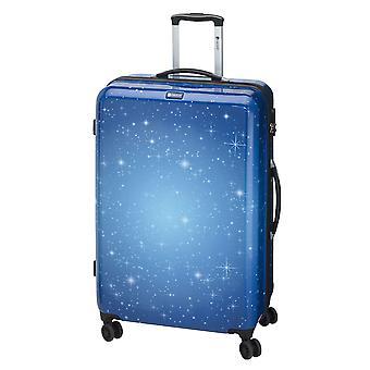 Controleren. IN Galaxy Trolley M, 4 wielen, 69 cm, 70 L, Blauw