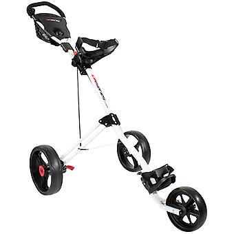 Chariots de golf | Masters 5 Series 3 Wheel Push Golf Trolley Blanc