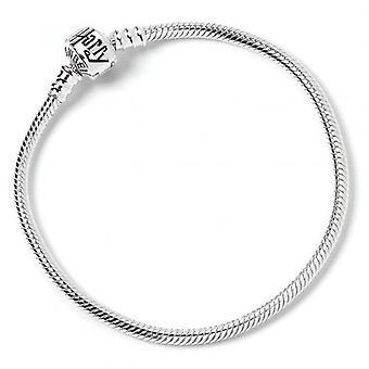 Harry Potter Sterling Silver Charm Bracelet L