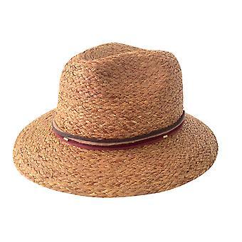 Jacaru 1857 raffia fedora hat