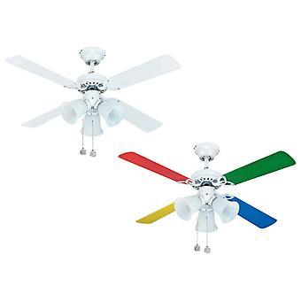 Ceiling fan Hornet White 105cm / 42