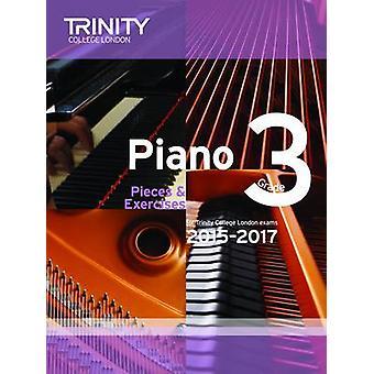Piano 2015-2017 - Pieces & Exercises - Grade 3 - 9780857363213 Book